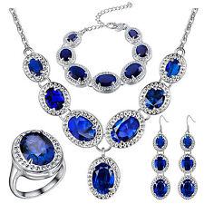Sapphire Fashion Jewelry Sets