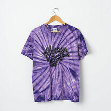 Vtg Chicago Illinoi Tie Dye T-Shirt Size L Purple Hippie 60s Short Sleeve Top