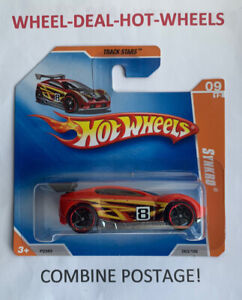 HOT WHEELS 2009 TRACK STARS SYNKRO RARE SHORT CARD MOC!