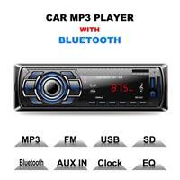 Bluetooth Autoradio Freisprecheinrichtung Radio Stereo 1DIN MP3 SD USB AUX-IN