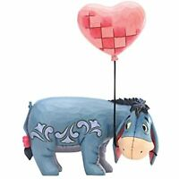 Jim Shore Disney Traditions Winnie The Pooh Eeyore + Heart Valentine's Figurine