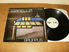 """CAPELLA : BAUHAUS - 12"""" vinyl GERMANY 1988 - ZYX 5798 - house"""