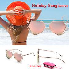 Designer Mirrored 100% UV400 Sunglasses for Women