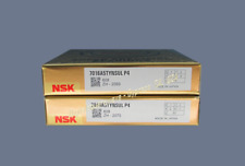 NSK 7016A5TYNSULP4 Abec-7 Super Precision Spindle Bearings. Matched Set of 2