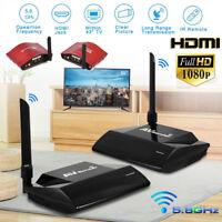 5.8GHz WIRELESS AV Sender TV Wireless AUDIO HD VIDEO Transmitter Receiver 984ft