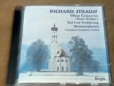 Richard Strauss Oboe Concerto - Heinz Holliger (CD)