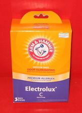 Electrolux C Arm & Hammer Premium Filtration Odor Eliminating Vacuum Bags 3 bags