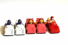 Jouet Mc Donalds Happy Meal 1991 voitures car Grimace Birdie Ronald
