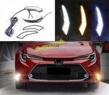 LED DRL daytime running lights blinker 1 pairs For Toyota Corolla 2020 L/LE/XLE