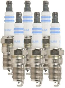 Bosch 6724 OE Fine Wire Platinum Spark Plug (6 Pack)