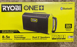 Ryobi ONE  18V Speaker with Bluetooth Wireless Technology PAD01B
