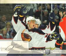 2006-07 BAP PORTRAITS -  MARIAN HOSSA -  AUTOGRAPHED 8 X 10 PHOTO