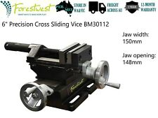 """6"""" 2 Way Cross Slide Vice Drill Press Vice 150mm High Precision Industrial Level"""