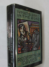 Canada Forgery Art Forgers What's Bred in the Bone Robertson Davies DJ 1st 1985
