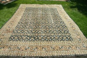 £7000 Antique HANDMADE Persiann Tabrizz hand knotted wool rug 380 x 285 cm