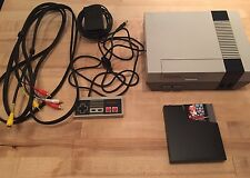 Nintendo NES Console System Lot Bundle Super Mario Bros Game Tested Original