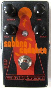 Used Catalinbread Sabbra Cadabra Treble Boost Guitar Effects Pedal