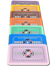 Ultimate Poker Chip Plaques Jetons für Poker Roulette Neu