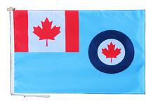 More details for royal canadian air force flag with rope and toggle - various sizes