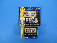 Kinney Brand 35MM Color Print Film ISO 200 24 Exposure Untested Exp 9/02 VS14