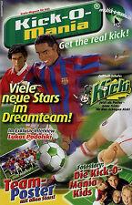 Prospetto REVELL Kick-O-Mania 2005 Opuscolo Rivista con intervista Lukas Podolski