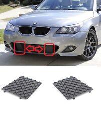 NEW BMW E60 E61 M SPORT FRONT BUMPER LOWER MESH GRILL TRIM COVER RIGHT + LEFT
