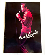 HARRY BELAFONTE In Person JAPAN TOUR 1974 CONCERT PROGRAM BOOK