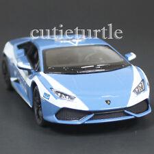 Kinsmart Lamborghini Huracan LP 610-4 1:36 Diecast Toy Car Blue Polizia Police
