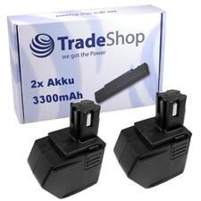 2x Trade-Shop AKKU 12V 3300mAh ersetzt Hilti SBP10 für SFB121 SFB126 SFB126A