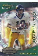 2000 QUANTUM LEAF INFINITY #ed 44/75 GREEN MARC BULGER #342 rookie West Virginia