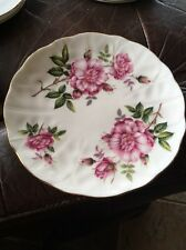 Chic Pink Roses Vintage AYNSLEY Side bread & butter plate