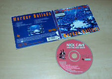CD  Nick Cave and the Bad Seeds - Murder Ballads  10.Tracks  1996  06/16
