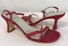 women's DYELIGHTS seafom satin strap low heel sandals Size: 6M