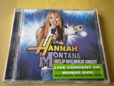 Hannah Montana & Miley CyrusBest of worlds concertCD + DVD2008pop14 tracks