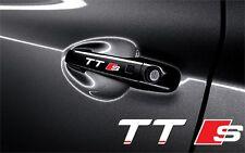 5x Aufkleber Audi TT S line für Türgriff  Cut Vinylselbstklebe