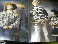 Anny Blatt Children's Knitting Book #111, All 27 Designs Shown