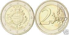 manueduc   IRLANDA   2012  2 EUROS  DECIMO ANIVERSARIO TYE NUEVOS