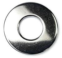 - Qty-1000 1//4 Flat Washers Zinc SAE ID 0.281 x OD 0.625 x THK 0.076