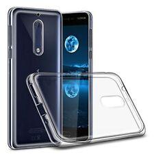 Silikoncase Transparent 0,3 mm Ultradünn Hülle für Nokia 8 2017 Tasche Cover Neu