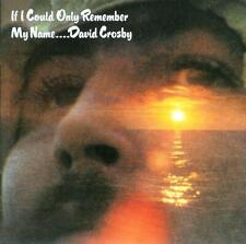"DAVID CROSBY  "" If I could only remember my name ""  CD"