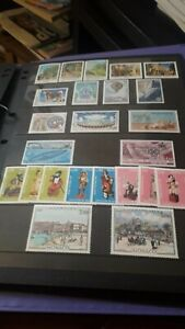 Monaco 1983 Complete Unmounted Mint Commemorative Stamps