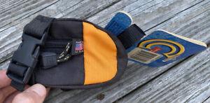 Vintage NOS CANNONDALE Rear Bicycle Bag Black/Orange Small