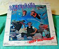 "Bananarama – ""Deep Sea Skiving"" - Original 1983 Rock/Pop Vinyl LP - VG+/VG+"