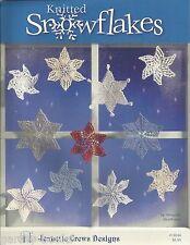 Knitted Snowflakes Margaret Heathman Knitting Patterns Jeanette Crews New