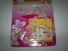 """Two Strawberry Shortcake Puzzles 1 is 9.9"""" Sq. & the Other is 5.5"""" Sq.- Pinks"""