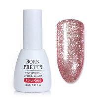 10ml UV Gel Nail Polish Soak Off Glitter Gel Varnish Nail Art Manicure DIY BP-08