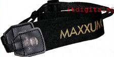"2X Minolta Maxxum Wide Camera Strap Genuine OEM Free US S&H 1.5"" wide Adjustable"