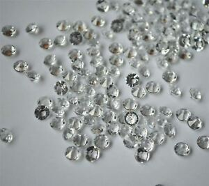 6Pk 4.5mm WMA 10000 Clear Table Dimond Crystal Confetti Wedding Party Table