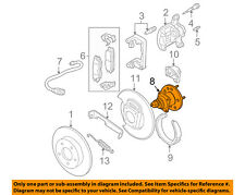GM OEM Rear Suspension-Hub & Bearing 12413003