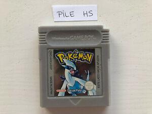 pokemon argent espagnole Nintendo Game Boy attention pile sauvegarde hs